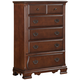 Fairfax Home Furnishings Folio Bethany Drawer Chest in Maple Brown F4001-07