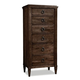 Durham Furniture Springville Collection Lingerie Chest in Bark 145-167-BARK