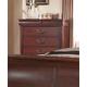 Fairfax Home Furnishings Folio Liberty Drawer Chest in Cherry F4283-07