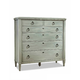 Durham Furniture Springville Collection Dressing Chest in Greystone 145-169-GRST