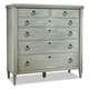 Durham Furniture Springville Collection Dressing Chest in Bark 145-169-BARK