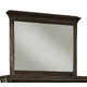 Durham Furniture Springville Collection Vertical Frame Mirror in Greystone 145-181-GRST
