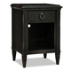 Durham Furniture Springville Collection 1 Drawer Nightstand in Greystone 145-201-GRST