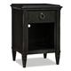 Durham Furniture Springville Collection 1 Drawer Nightstand in Greystone 145-201-GRST