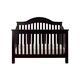 DaVinci Baby Jayden Collection 4-in-1 Convertible Crib with Toddler Rail in Ebony M5981E