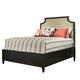 Durham Furniture Springville Queen Upholstered Panel Bed in Bark 145-125-BARK