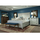 Durham Furniture Springville 4 Piece Panel Bedroom Set in Bark
