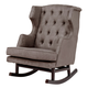 Nursery Works Empire Rocker in Slate with Dark Legs 1024SD