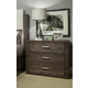Durham King & Main 3 Drawer Nightstand in Toasted Almond 147-203TA