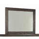 Durham King & Main Vertical Frame Mirror in Toasted Almond 147-181TA