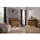 Franklin & Ben Nelson 4-in-1 Convertible Crib Set with Toddler Rail in Aged Oak