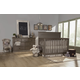 Franklin & Ben Nelson 4-in-1 Convertible Crib Set with Toddler Rail in Washed Grey