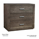 Durham King & Main Bachelors Chest in Toasted Almond 147-166TA