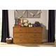 Franklin & Ben Providence 6-Drawer Dresser in Aged Oak B9116AO