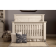 Franklin & Ben Providence 4-in-1 Convertible Crib Set with Toddler Rail in Distressed White