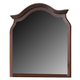 Fairfax Home Furnishings Folio Bethany Mirror in Maple Brown F4001-02