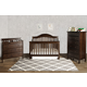 DaVinci Baby Jayden Collection 4 in 1 Convertible Crib Set in Espresso M59SET
