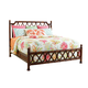 Tommy Bahama Bali Hai Queen Island Breeze Rattan Bed in 593-133