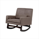 Nursery Works Sleepytime Rocker in Slate with Dark Legs 1085SD