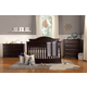 DaVinci Baby Meadow Collection 4 in 1 Convertible Crib Set in Dark Java M45DJSET