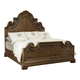 Bernhardt Villa Medici King Panel Bed in Warm Chestnut