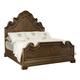 Bernhardt Villa Medici California King Panel Bed in Warm Chestnut