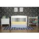 DaVinci Baby Tyler Collection 5 Piece Nursery Set in White M5731W