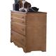 Carolina Furniture Common Sense 3 Drawer Dresser in Salem Maple 155300
