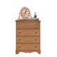 Carolina Furniture Common Sense 4 Drawer Chest in Salem Maple 154400