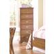 Carolina Furniture Common Sense 6 Drawer Lingerie Chest in Salem Maple 154600