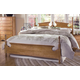 Carolina Furniture Common Sense 4 Piece Panel Bedroom Set in Salem Maple