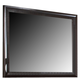 Fairfax Home Furnishings Folio Bay Hill Mirror in Dark Brown F4735-02
