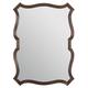 Bernhardt Villa Medici Non-Beveled Mirror in Warm Chestnut 355-321