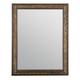 Bernhardt Villa Medici Carved Wood Frame Mirror in Warm Chestnut 355-331