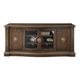 Bernhardt Villa Medici Entertainment Console in Warm Chestnut 355-860