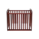 DaVinci Baby Alpha Mini Rocking Crib in Cherry M0598C
