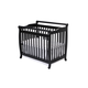 DaVinci Baby Emily Mini Crib in Ebony M4798E