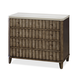 Universal Furniture California Accent Chest with Stone Top in Hollywood Hills 475360