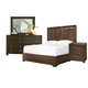 Universal Furniture California 4 Piece Panel Bedroom Set in Hollywood Hills