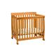 DaVinci Baby Kalani Mini Crib in Honey Oak M5598O