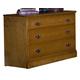 Carolina Furniture Carolina Oak Single Dresser in Golden Oak 235300