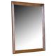 Carolina Furniture Carolina Oak Landscape Mirror in Golden Oak 236400
