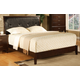 Crown Mark Furniture Serena Full Bed in Rich Brown