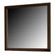 Crown Mark Furniture Serena Dresser Mirror in Rich Brown B8100-11