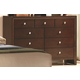 Crown Mark Furniture Evan Dresser in Warm Brown B4700-1
