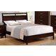 Crown Mark Furniture Ian Full Bed in Brown