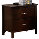 Crown Mark Furniture Ian Nightstand in Brown B7300-2