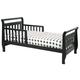 DaVinci Baby Sleigh Toddler Bed in Ebony M2990E