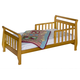 DaVinci Baby Sleigh Toddler Bed in Oak M2990O