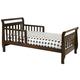 DaVinci Baby Sleigh Toddler Bed in Espresso M2990Q